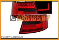 PILOTOS LED BAR AHUM ROJO/NEG AUDI A6 4F Alicante