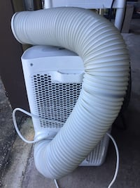 white and blue air cooler 806 mi