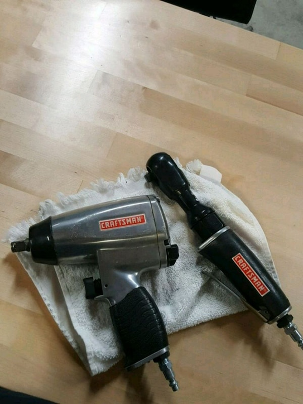 Used Craftsman Impact Wrench And Ratchet For In Elk Grove Village Letgo