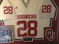 Signed and authenticated Adrian Peterson OU jersey Oklahoma City, 73114