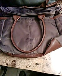 women's brown leather shoulder bag Hamilton