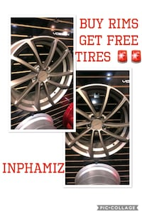 kmc wheels: no credit check/only $40 downpayment  Brooklyn