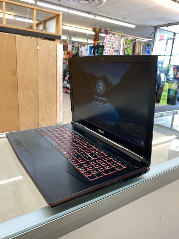 Msi Gaming Laptop  d00c7f7e-7090-4904-8f4e-55bed1c67e54