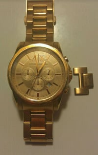 Armani exchange rose gold chronograph watch  St. Catharines