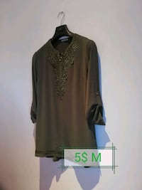 women's brown long-sleeved dress 804 km