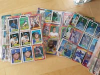 Vintage Baseball Cards (49 pages/882 cards) 783 km