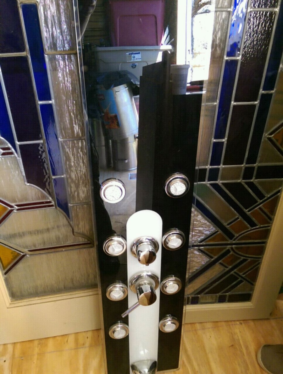 Photo 8 body spray jets shower wall unit all-in-one