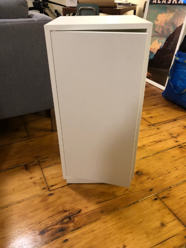 Used Ikea Eket Cabinet With Door And Shelf For Sale In Jerseycity