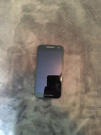 Black Motorola moto g android smart phone
