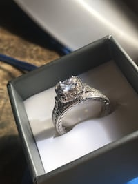 Solid Silver 2 piece engagement set Milwaukee