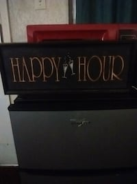 Happy hour sign Lakeland, 33801