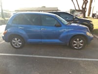 blue 5-door hatchback null