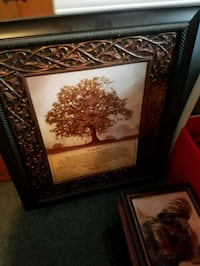 brown wooden framed painting of trees Boonsboro, 21713