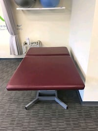 Hill labs mat high low adjustable table