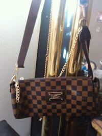 brown and black Louis Vuitton leather tote bag Los Angeles, 91316