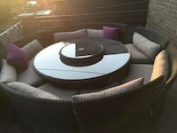 round patio set  St. Catharines, L2P 3R5