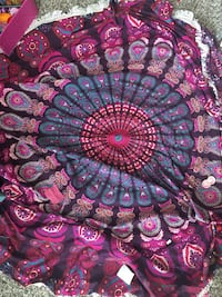 purple and pink floral textile Knoxville, 37922