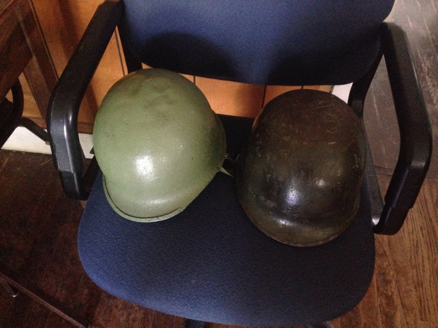 Army helmets  - TN