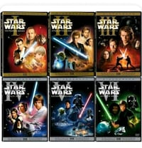 Star wars trilogy DVDS