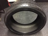 25535R20 Yokohama Advan Used Tire 34 mi