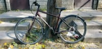 black and red road bike Toronto, M5A 2P9