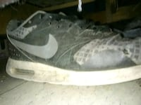 pair of gray Nike low-top sneakers Fort Thompson, 57339