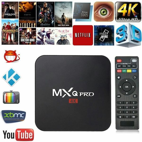 Fully loaded android box with Kodi 17 1