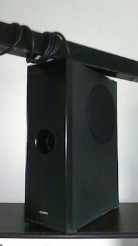 black Sony soundbar Sunnyvale