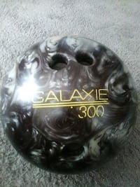 black gray and yellow Galaxie 300 bowling ball New Jersey, 08027