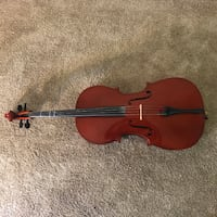 Scott Russ Music 1/2 size Student Cello Warrenton