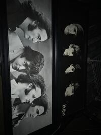 Beatles pictures in frames