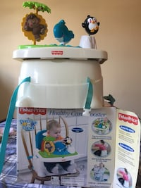 Fisher Price booster seat high chair with a toy Washington, 20012