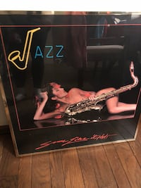 Vintage jazz picture from the 80s