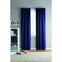 Room Darkening Curtains (Navy Blue) Las Vegas, 89183