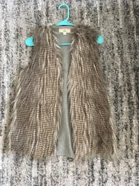 Grey fur vest Washington, 20008