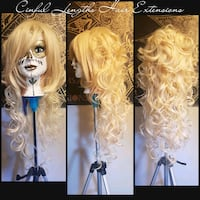 Wigs and hair extensions Edmonton