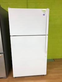 Whirlpool white top french door refrigerator  47 km