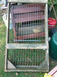 OLD ARMY COT OF client's DADS Crosslake