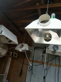 4 grow lights with ballasts and bulbs, etc Cañon City, 81212
