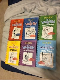 Diary of a wimpy kid books 1-6 Gresham, 97030
