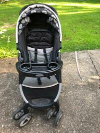 baby's black and gray jogging stroller Derry, 03038