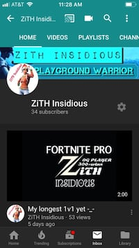Subscribe to my YouTube channel  Bryan, 77803