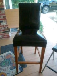 Black Tall Counter Chair