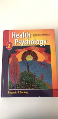 Health Psychology, A Cultural Approach Houston, 77015