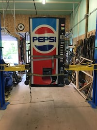 Dixie-Narco Pepsi Machine Indiana