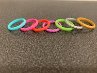 Stackable Silicone Rings (size 7) *price is each*
