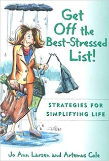 """Book """"Get Off the Best-Stressed List!"""" by Jo Ann L"""