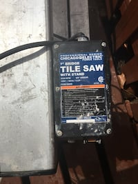 Professional Series 7 Inch tile saw Germantown