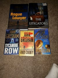 four assorted novel books collection Guelph, N1E 5G3
