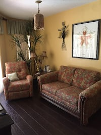 Love seat & Rocker Recliner PALMCOAST